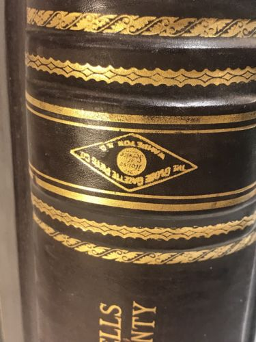 Antique 1913 Wells County North Dakota Registry of County Warrants Book Criminal-3