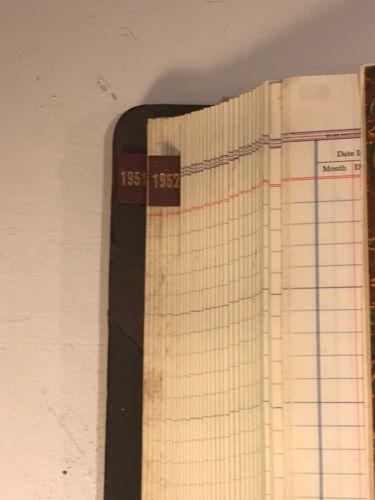Antique 1913 Wells County North Dakota Registry of County Warrants Book Criminal-7