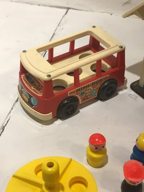 Vintage Fisher Price Little People Play Family School House With ...