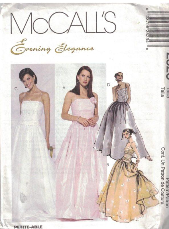 Enchanting Formal Dress Sewing Patterns Motif - Easy Scarf Knitting ...