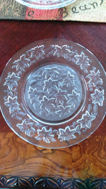 Collectible Princess House Crystal & Vintage Fantasia Dinner Plates (5) 10\