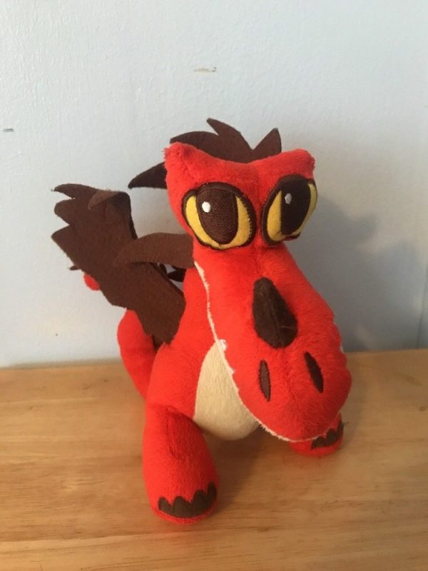 Dreamworks dragons how to train your dragon hookfang red plush doll how to train your dragon hookfang red plush doll figure collectible animated characters ccuart Choice Image