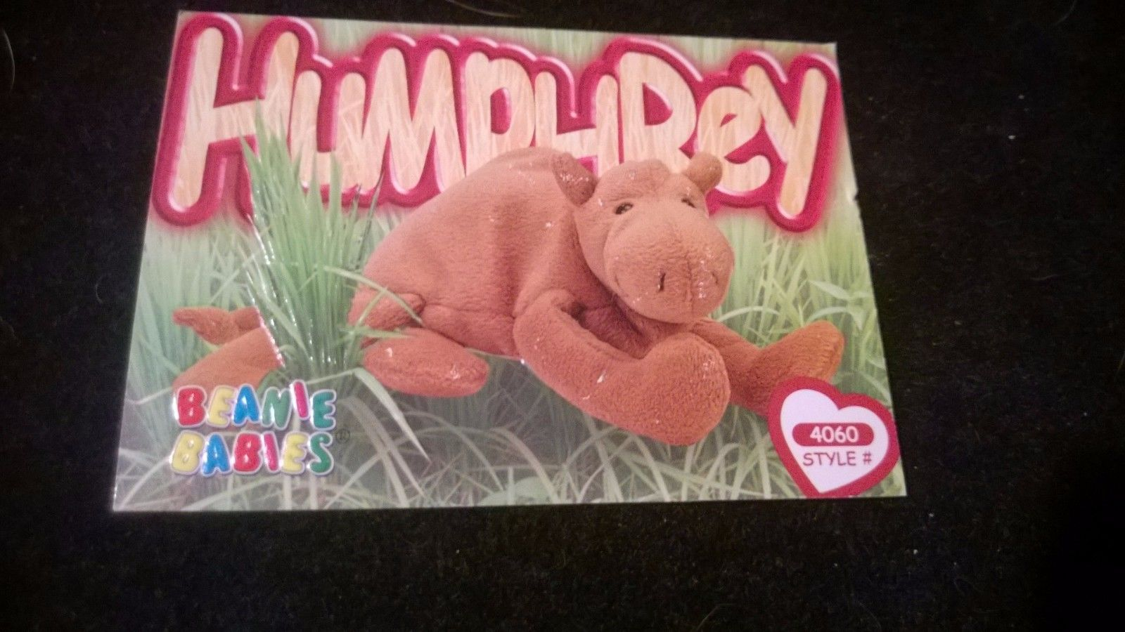TY Beanie Baby Trading Card  4060 Humphrey the Camel 2nd ... abd96855108