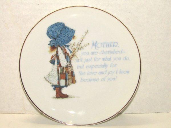 Vintage Holly Hobbie Lasting Memories Plate American Greetings Fine