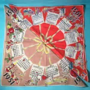 calendar-handkerchiefs-his-hers-new-years-memorabilia