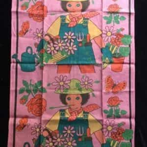 1970s-belcrest-pure-linen-girl-gardener-character-kitchen-towel