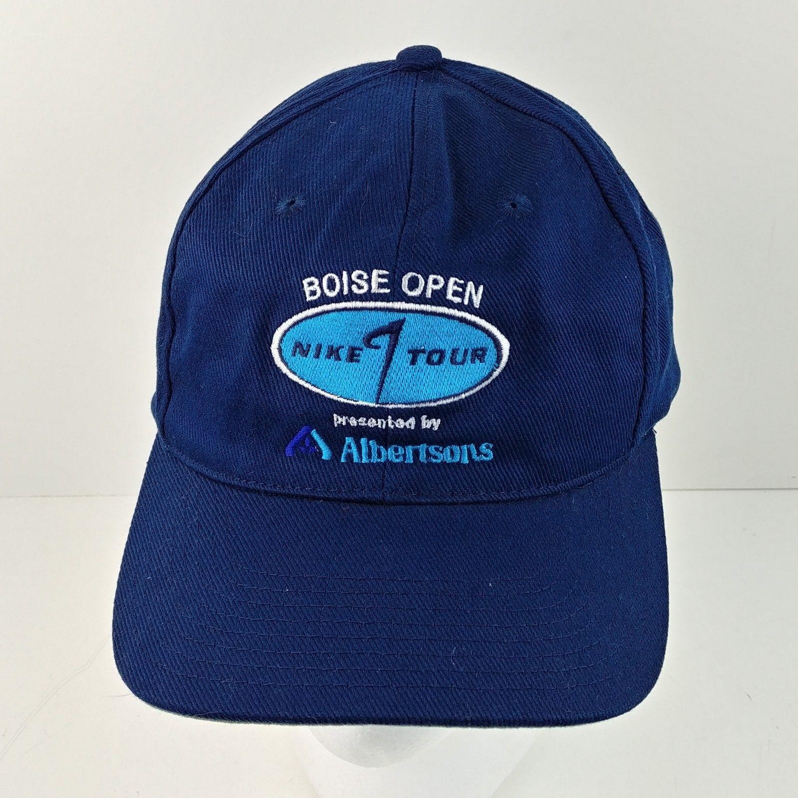 lc Nike Golf Hat 550634-451 w  Tag Boise OPEN Snapback Baseball Cap ... 628244a3649c
