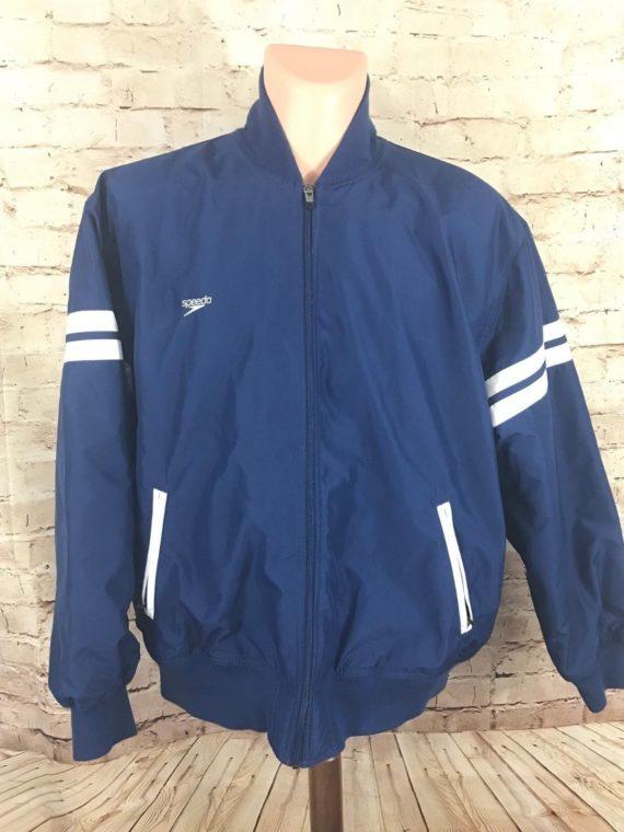 speedo-swim-warmup-jacket-mens-size-2xl-blue