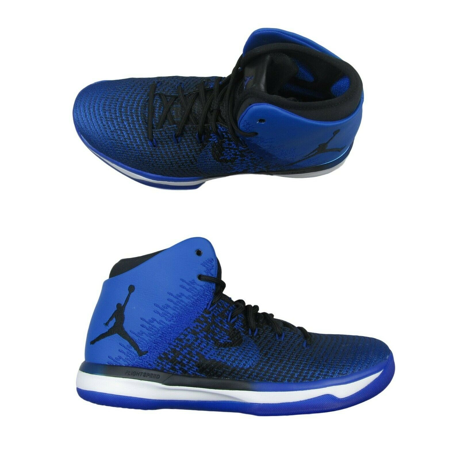 c2b3dc61dc84 Air Jordan XXXI 31 Black Royal Basketball Shoes Size 10 Mens 845037 ...