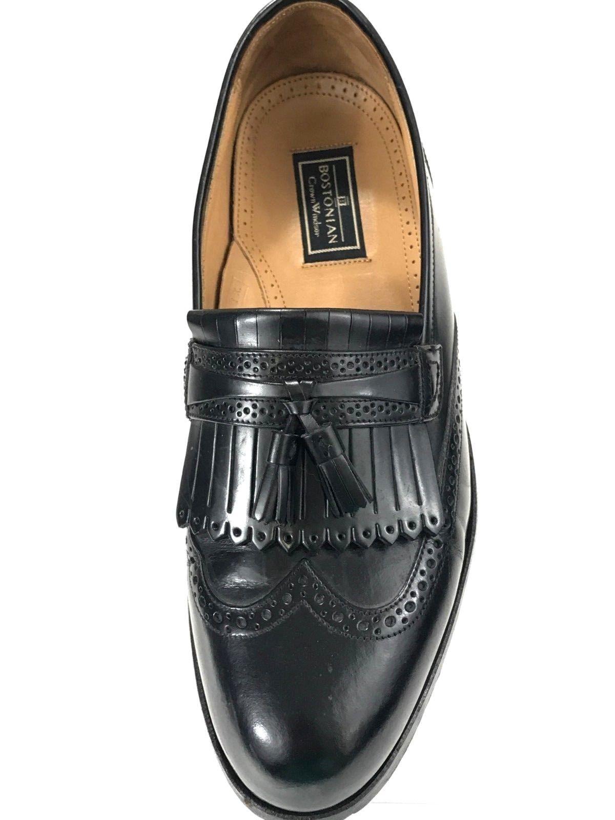 3c9eecb7e1a Bostonian Crown Windsor Men s Black Loafer Size 9.5 D