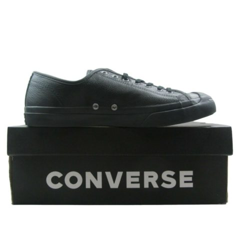 e8ad9be51d1 Converse JP Jack Purcell OX Leather Shoes Mens Size 11.5 Triple ...