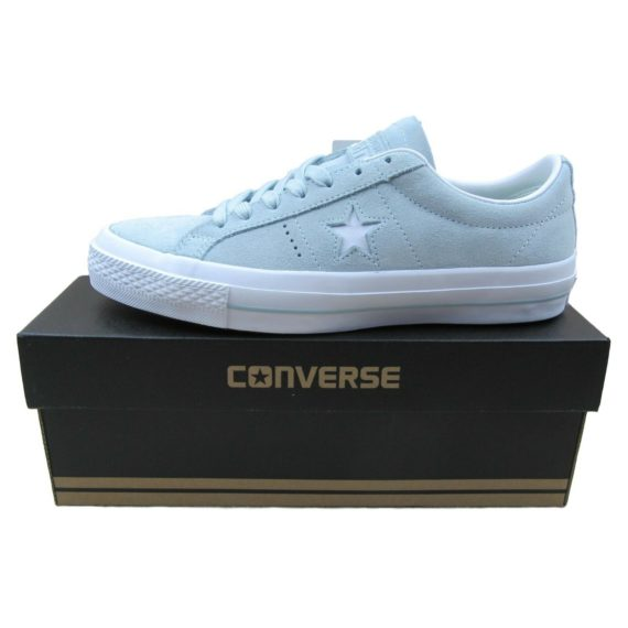 converse-one-star-suede-ox-mens-size-7-womens-8-5-shoes-polar-blue-153963c-new