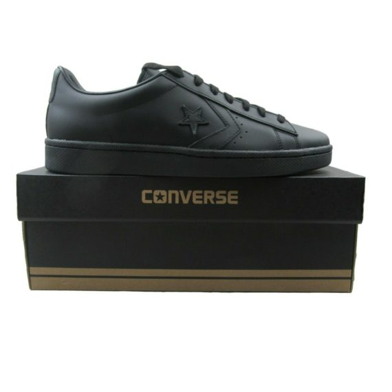 converse-pro-leather-76-ox-black-leather-low-shoes-size-10-mens-155318c-new