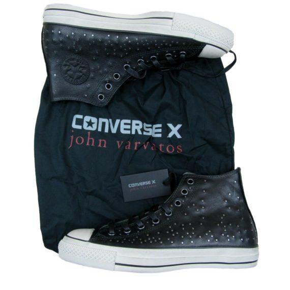 converse-x-john-varvatos-studded-leather-hi-chuck-taylor-size-10-5-black-151295c