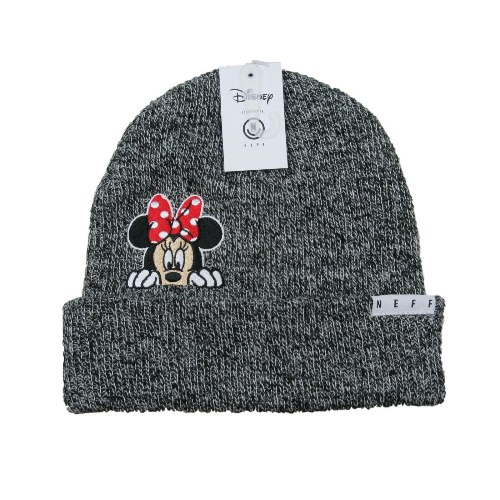 30aa90fe987 Disney Collection Neff Minnie Mouse Grey Beanie Cap Unisex One Size Fit