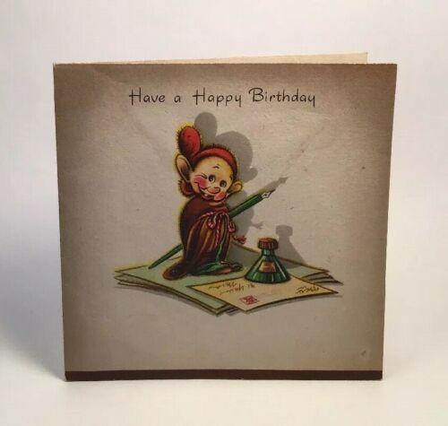 hallmark-dopey-have-a-happy-birthday-card-vintage-snow-white-walt-disney-productions