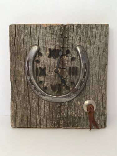 horseshoe-clock-repurposed-rustic-barnboard-cowboy-crafts-by-felz