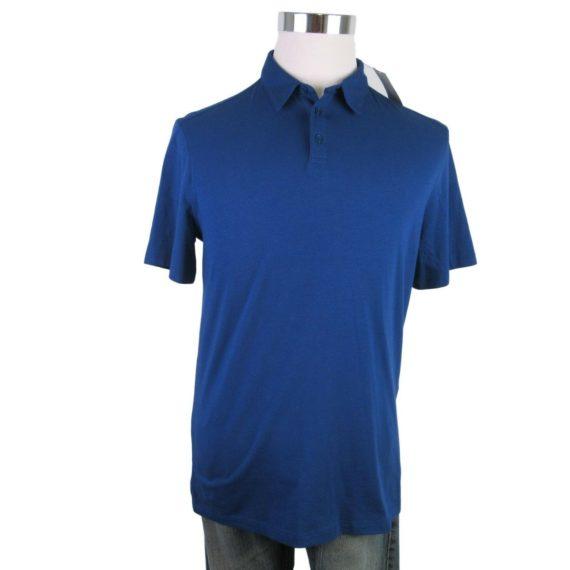 john-varvatos-star-usa-blue-polo-shirt-size-medium-mens-short-sleeve-new-98