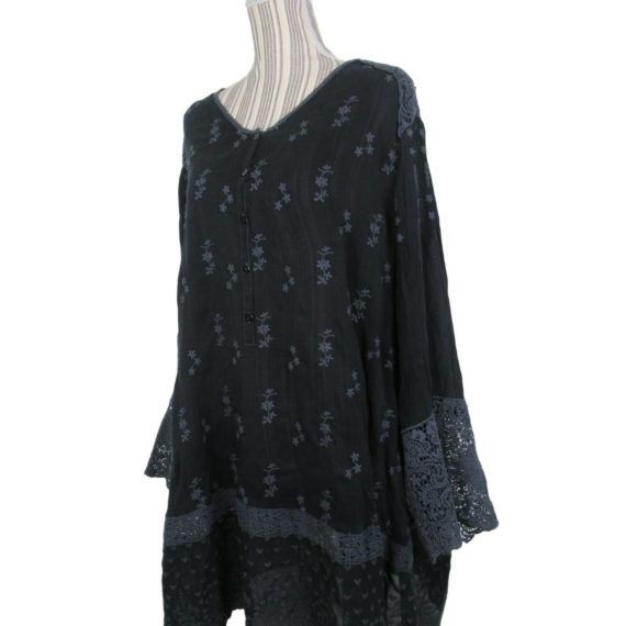 johnny-was-embroidered-tunic-blouse-size-3x-black-floral-new-288