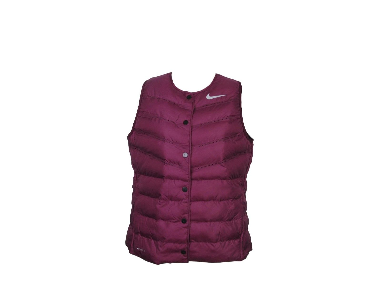 a1ed2a35a619 Nike Aeroloft Womens Size Large Vented Vest Purple Training Golf ...