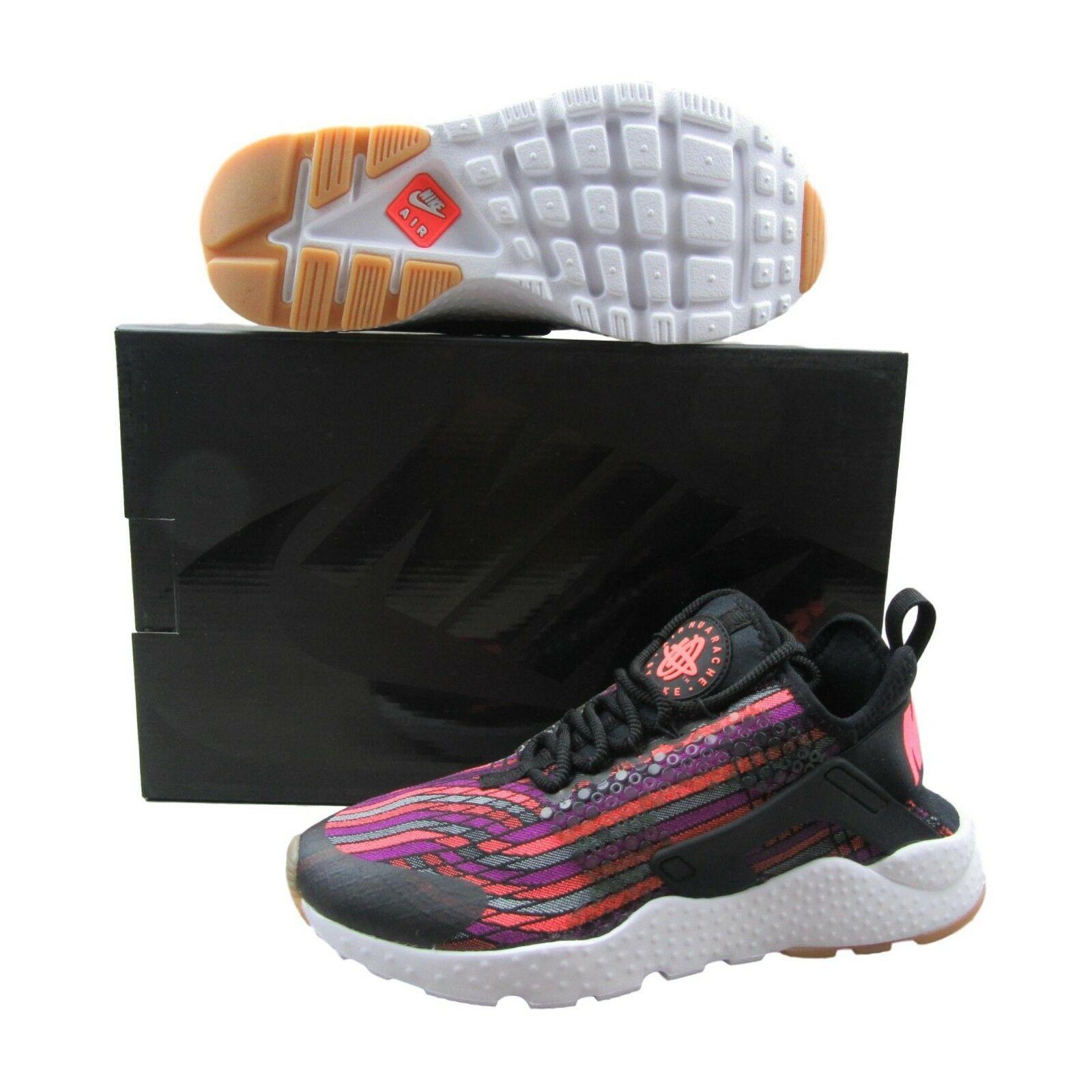 5cb0dabe13088 Nike Air Huarache RN Ultra JCD PR Women Running Shoes Black Lava ...