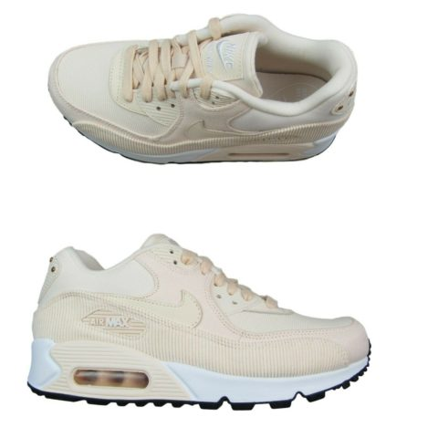new arrival 50478 d1347 nike-air-max-90-lea-running-shoes-womens-
