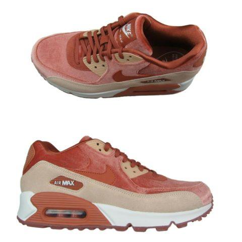 nike-air-max-90-lx-running-shoes-womens-size-9-5-velvet-peach-white-898512-201