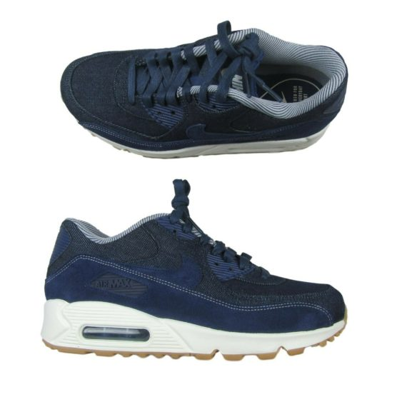 nike-air-max-90-se-blue-denim-pack-running-shoes-size-8-5-womens-881105-401-new