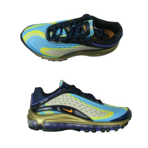 detailed look 73454 65cfb nike-air-max-deluxe-photo-blue-gold-shoes-