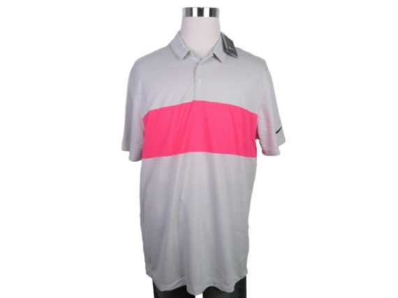 nike-breathe-pink-grey-color-block-golf-polo-shirt-size-xl-mens-833067-052-new