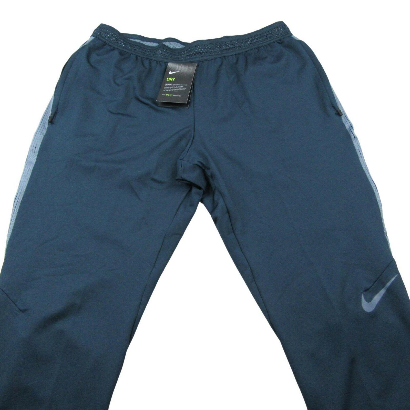 f8fec91776b370 Nike Dry Strike Soccer Pants Size Large Armory Blue Force $85 New ...