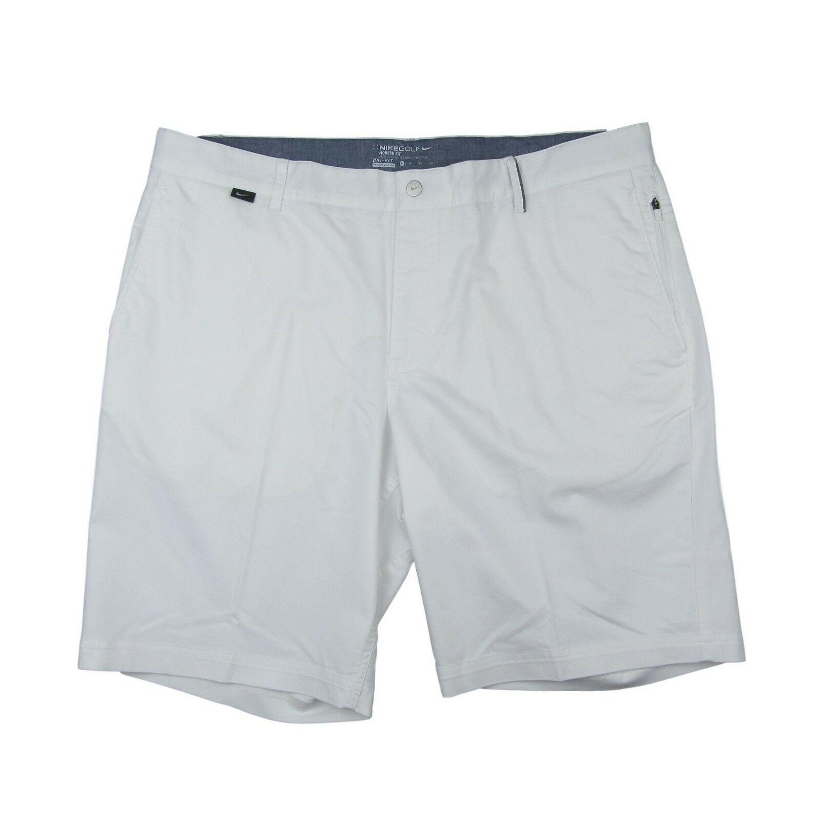 e87fee19 Nike Golf Modern Fit White Shorts Size 38 Mens 725710 100 New