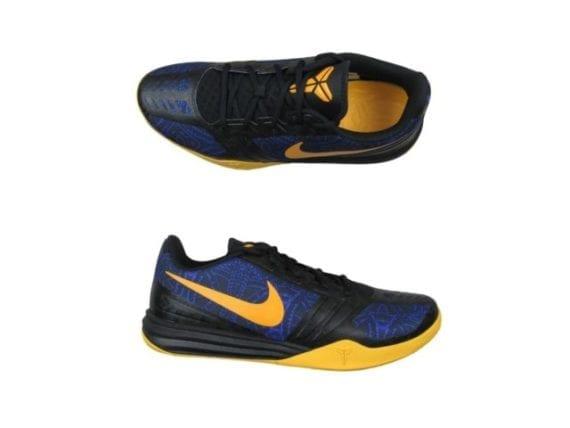 official photos bafe2 51019 Nike Kobe Mentality 4 AM Shoes Size 13 Mens Purple Gold Black 704942 501 New
