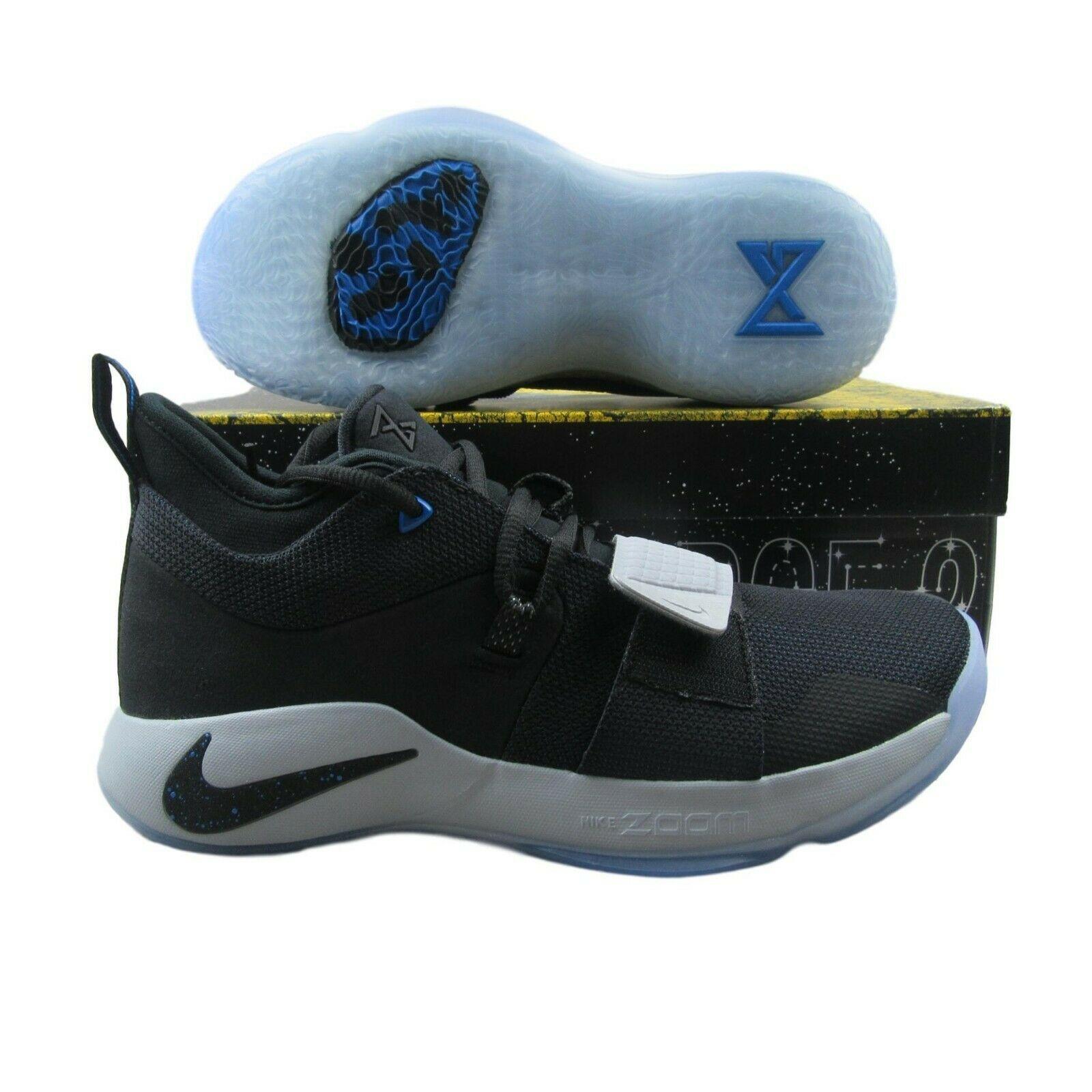 3cd0bdea97e6 Nike PG 2.5 Black Photo Blue Basketball Shoes BQ8452 006 Mens Multi Size