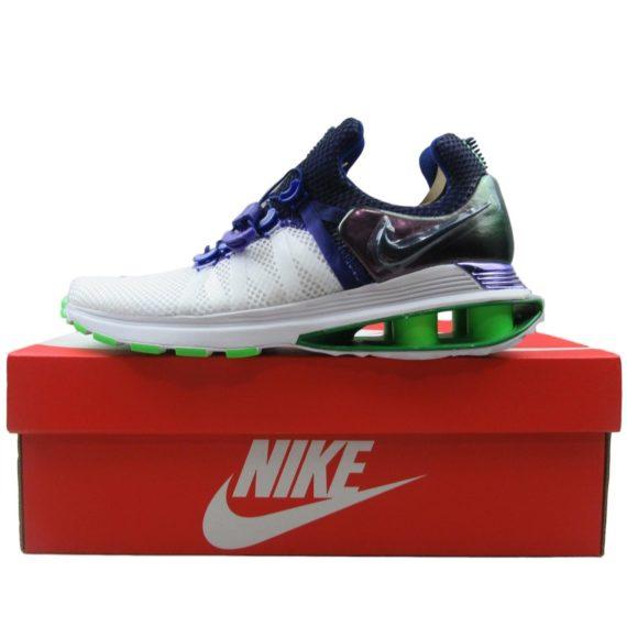 nike-shox-gravity-womens-running-shoes-fusion-violet-green-aq8554-105-multi-size