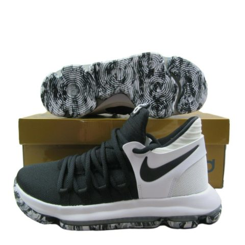 separation shoes 2be48 b7dc6 nike-zoom-kd10-gs-basketball-shoes-black-white-