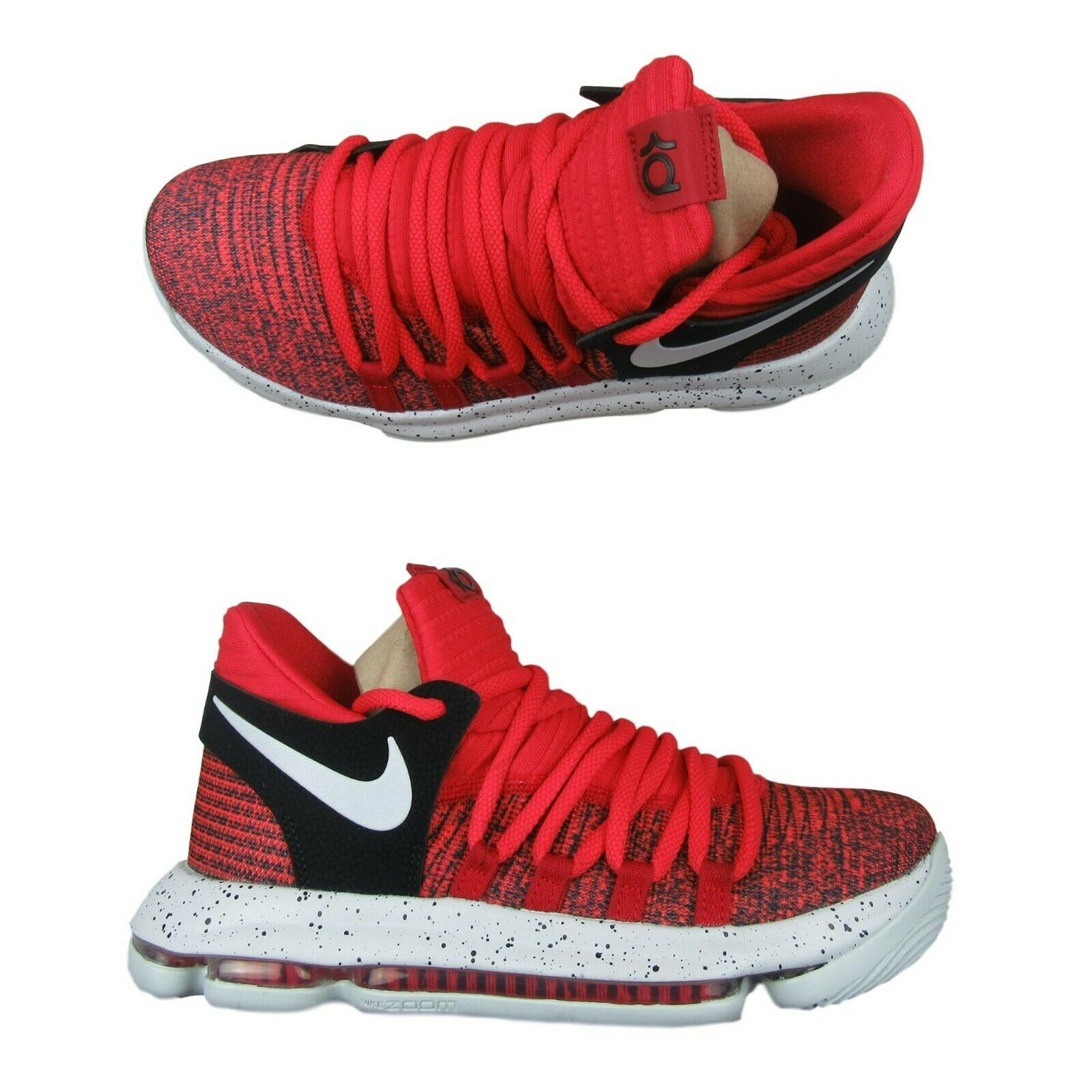 huge discount 69d53 77cff nike-zoom-kd10-university-red-pure-platinum-size-