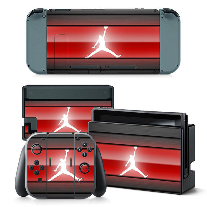 dedb23ae13c8 Nintendo Switch Air Jordan Console   Joy-Con Controller Decal Vinyl ...