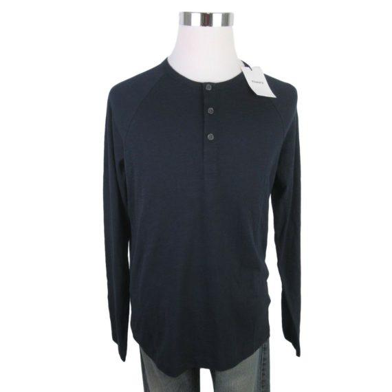 theory-mens-adrik-eclipse-henley-shirt-size-large-navy-blue-long-sleeve-new-115