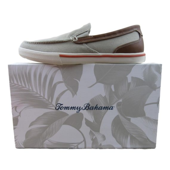 tommy-bahama-slip-on-loafers-size-11-mens-costa-venice-venetian-twill-tb7f10158