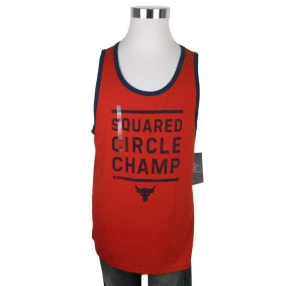 under-armour-project-rock-squared-circle-champ-orange-tank-top-size-large-new