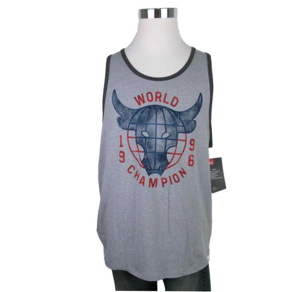 889365f0e0f068 under-armour-project-rock-world-champion-1996-gray- · Men s Activewear