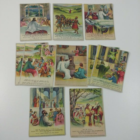 10-picture-lesson-cards-school-david-cook-lithographs-1910s-1920s-3-5-x-4-5