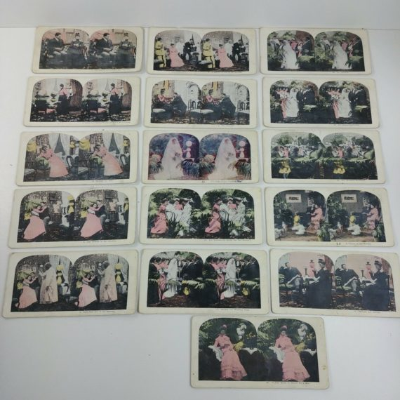 16-wedding-bells-stereoview-stereoscope-cards-bashful-lover-courtship-love