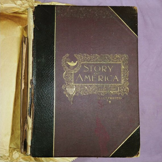 1894-antique-book-the-memorial-story-of-america-by-hamilton-mabie-illustrated