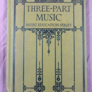 1925-three-part-music-by-giddings-earhart-baldwin-newton-hardcover
