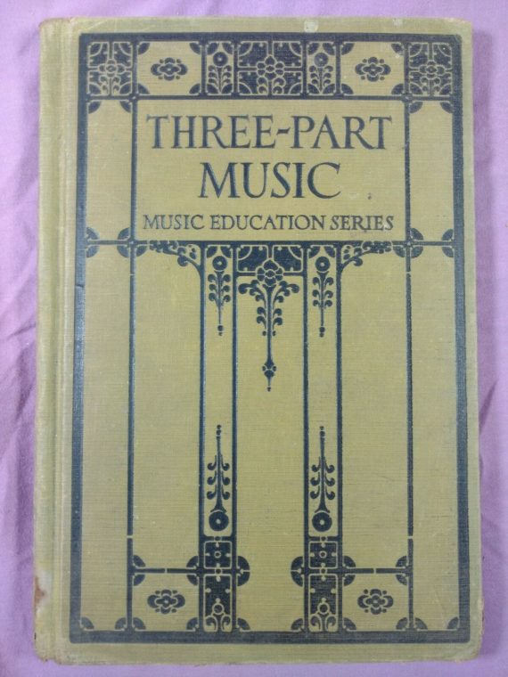 1925-three-part-music-by-giddings-earhart-baldwin-newton-hardcover