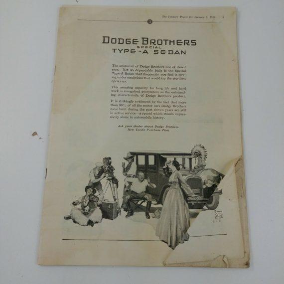 1926-literary-digest-magazine-dodge-brothers-cadillac-chevrolet-firestone-ad