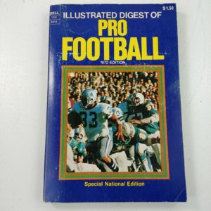 1972-edition-illustrated-digest-pro-football-nfl-cowboys-dolphins-vintage