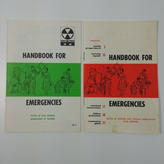 2-handbooks-for-emergencies-department-of-defense-civilians-fallout-shelter